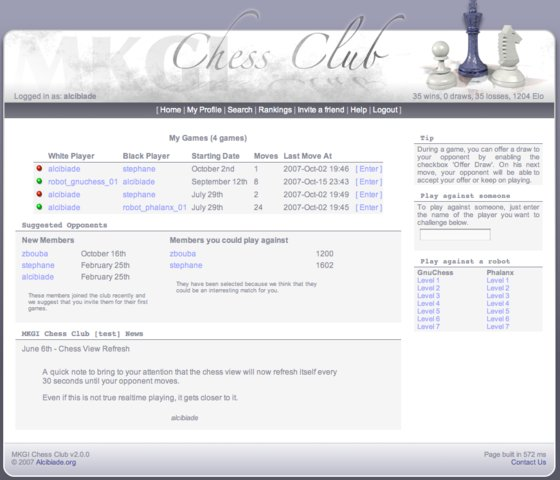 MKGI Chess Club : Login